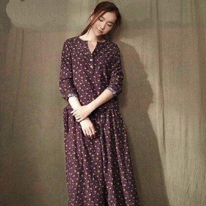 Popular Cotton Maxi Dresses-Buy Cheap Cotton Maxi Dresses lots ...