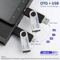 Leizhan unidad flash usb otg 4 gb 8 gb 16 gb 32 gb 64 gb pendrive 64g u disco de memoria de almacenamiento externo para el teléfono android