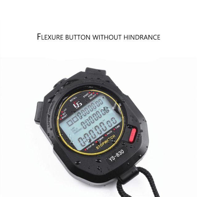 Professionele 3 Rijen Van 100 Stopwatch Timers Handheld Digitale Stopwatch Atletiek Sport Running Training Chronograaf Timer
