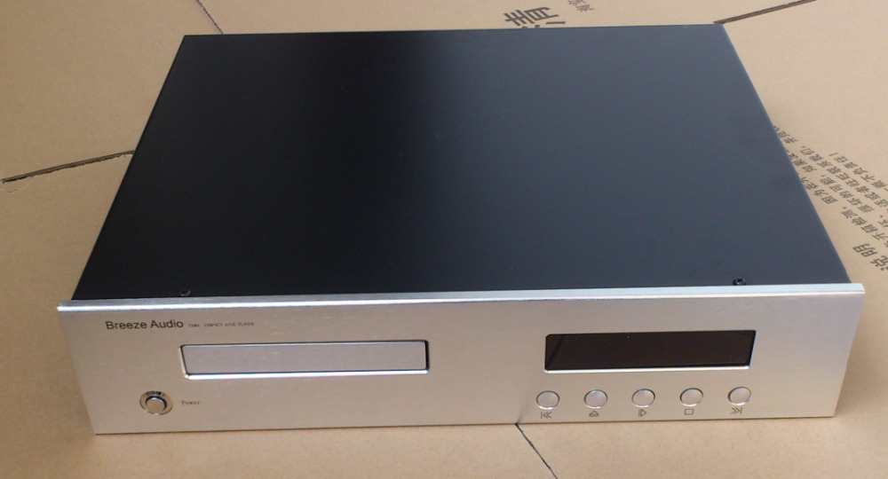 ФОТО WANBO ST4309- CD player full aluminum audio amplifier box high quality 430*90*358mm
