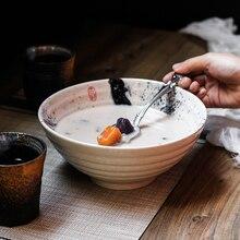 NIMITIME bol à soupe à nouilles Ramen de 7.5 pouces de Style japonais rétro vaisselle en céramique
