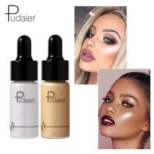 Pudaier Brand Liquid Bronzer Highlighters Face Brighten Makeup Glitter Glow Highlight Shimmer Highlighter Liquid Base Cosmetics