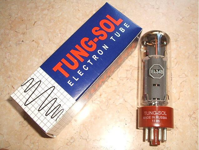 Music Hall 1PC Tung-Sol EL34B Russia Vacuum Tubes Brand New For Tube Amplifier Free shipping free shipping 10pcs lot pairing tube amplifier 2sc2344 2sa1011 c2344 a1011 new original