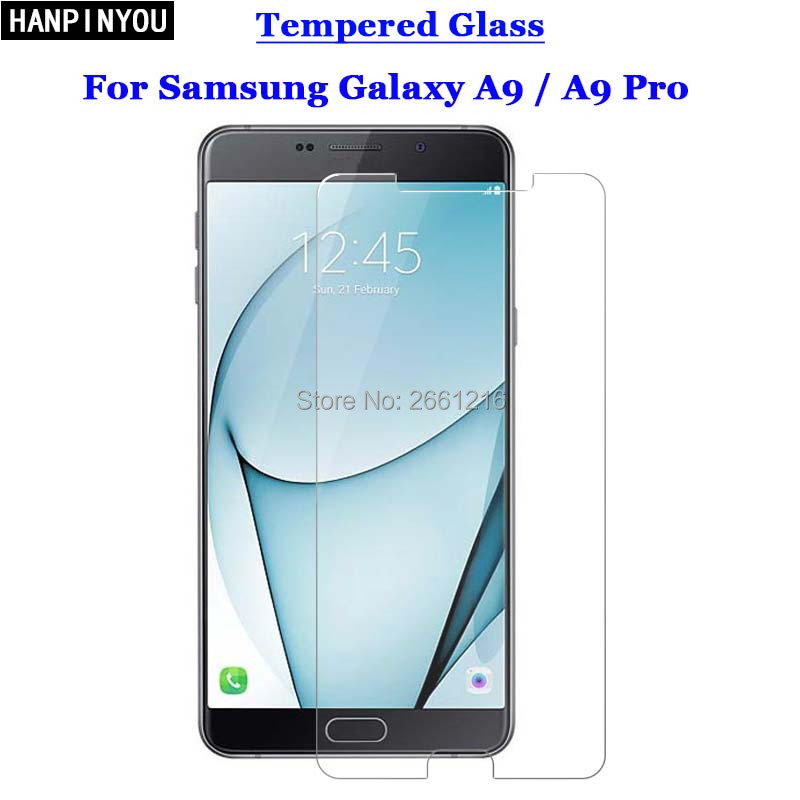 A9 / A9 Pro Tempered Glass 9H 2.5D Premium Screen Protector Film For Samsung Galaxy A9 2016 A9000 / A9 Pro A9100 6.0