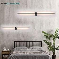 Lampy ścienne LED styl skandynawski sypialnia LED kinkiety nowoczesne proste światła w sypialni kryty salon schody oświetlenie korytarza