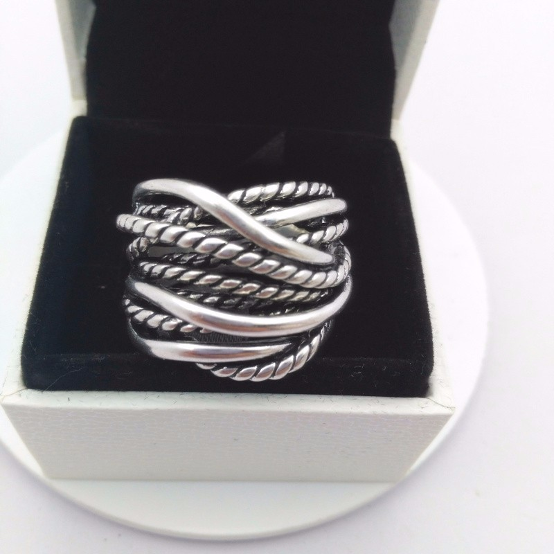 2017 Sale Authentic 925 sterling silver Roses hollow finger
