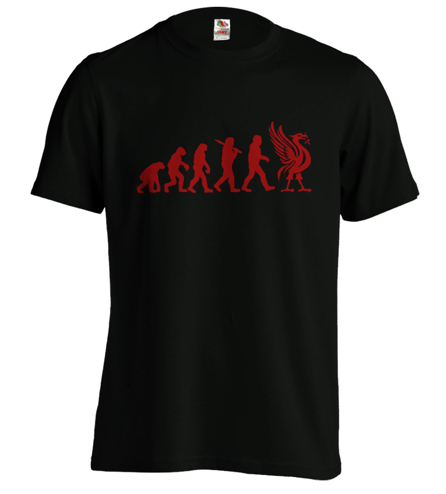 Liverpool Evolution T-Shirt Liver Bird Tee Funny T Xmas Birthday Present New T Shirts Funny Tops Tee New Unisex Funny Tops