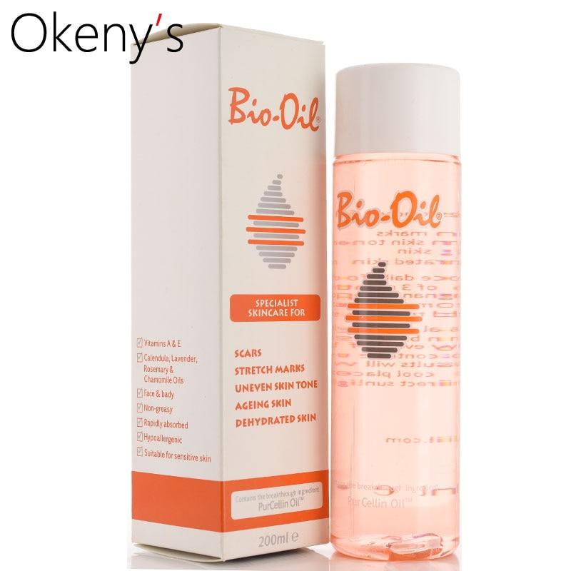купить 100% Australia Bio Oil 200ml skin care ance stretch marks remover cream remove body stretch marks uneven skin tone Purcellin Oil недорого