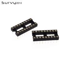 5/10/20/50PCS IC Socket 18P Pin Round 2.54mm Integrated Circuit Adaptor Solder Type 50pcs lot 40n03 18p t40n03g d40nf03l to252