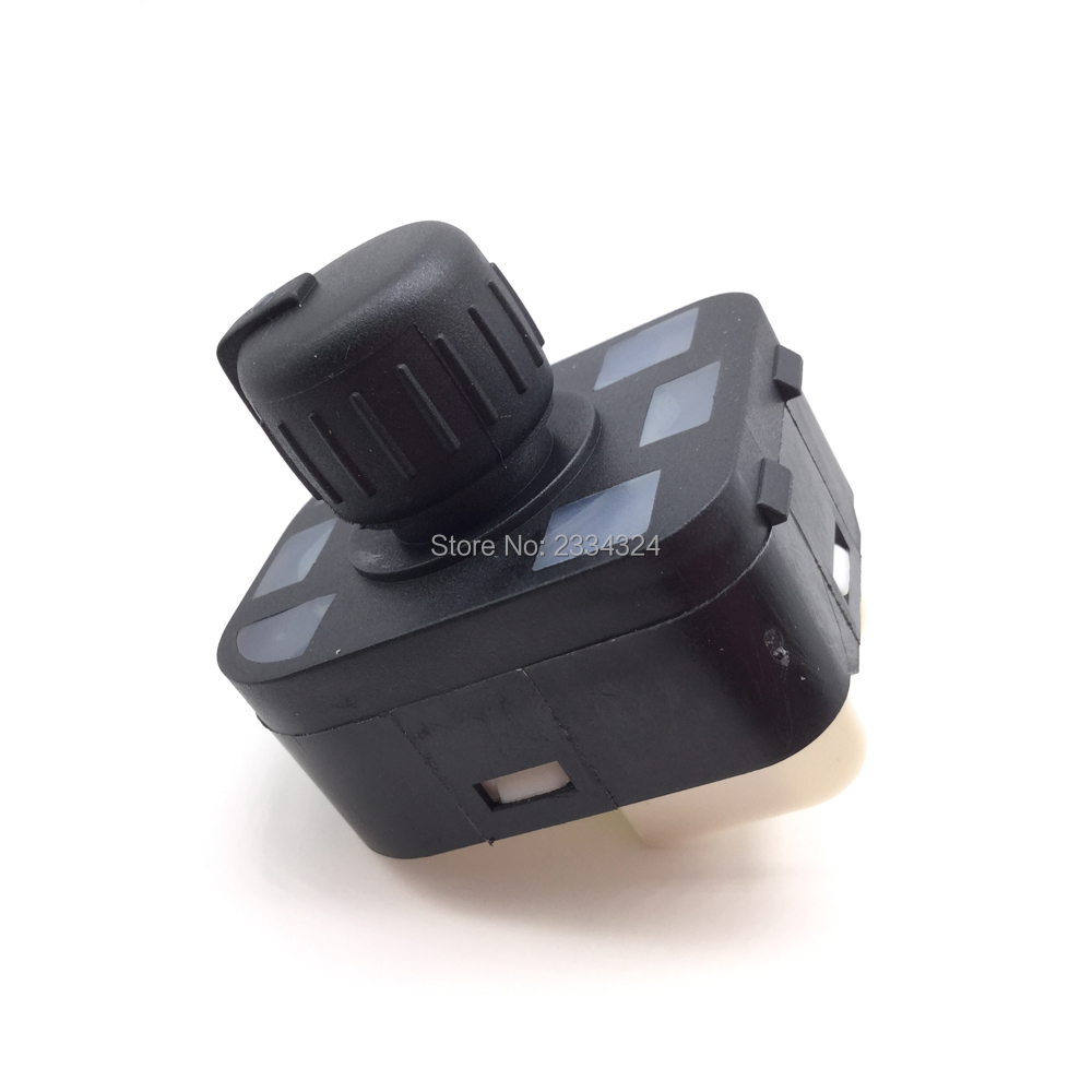 Adjust knob side mirror switch with Floding For <font><b>Audi</b></font> A1 A2 A3 A4 A6 S3 S4 S6 RS4 RS6 <font><b>A8</b></font> S8 Q7 TT R8 TTRS Seat Exeo 8E0959565A image