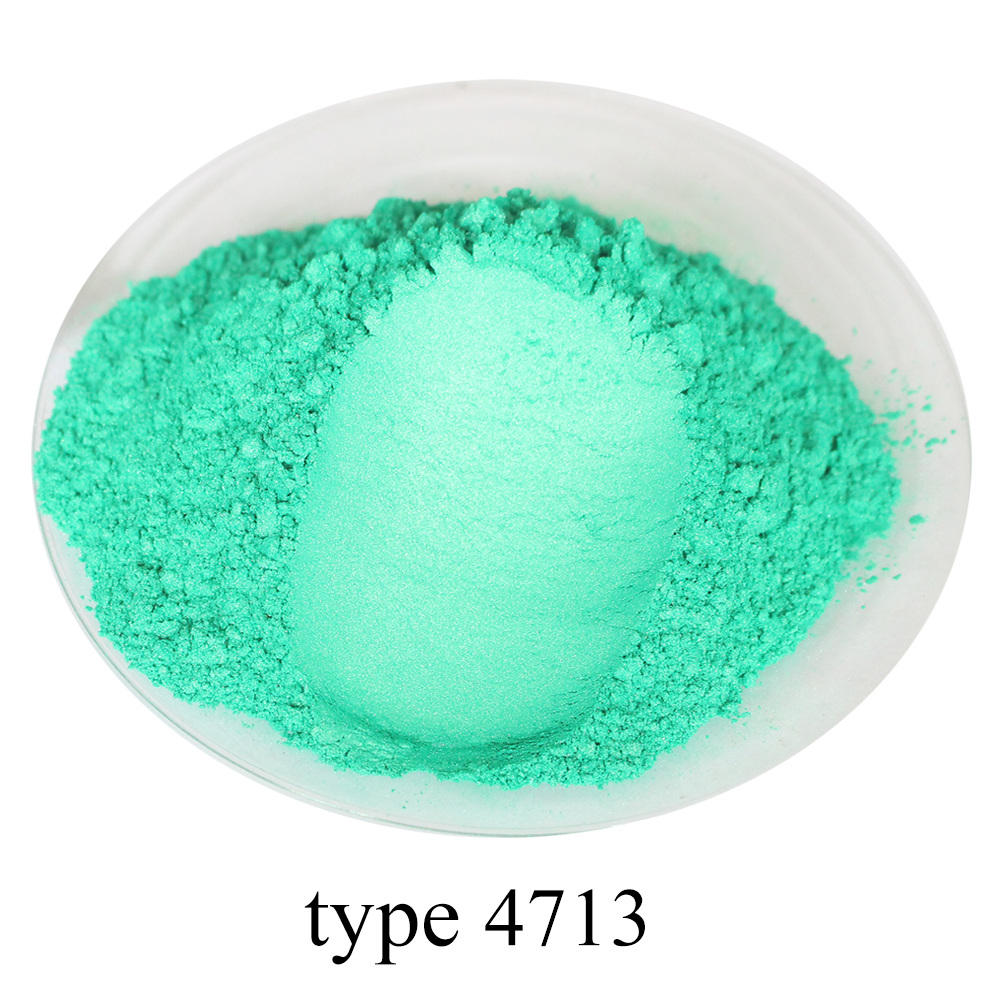 Pearl Powder Pigment Mineral Mica Powder DIY Dye Colorant for Nail Soap Automotive Art Craft 50g Turquoise Acrylic Paint Pigment