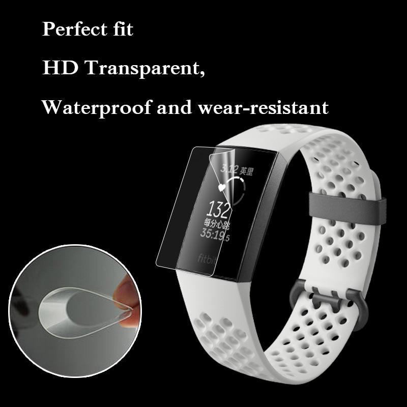 Smart-Accessories-9H-Anti-scratch-TPU-HD-Full-Cover-Screen-Protector-Film-For-Fitbit-Charge-3