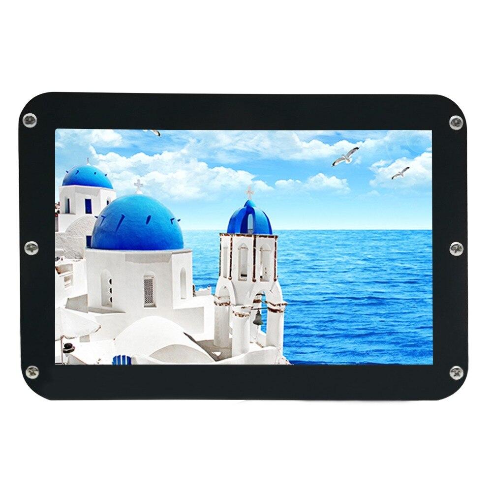 WIMAXIT 8 pouces IPS 1280x800 bricolage HDMI écran d'affichage pour Raspberry Pi 3 SKD écran LCD avec boîtier PMMA entrée Micro USB