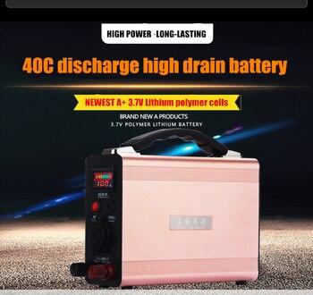 12V 90AH 90000MAH Li-polymer LiPo Chargeable Battery for diesel/gasoline cars(1.0L-7.0L),car refrigerators,emergency power bank