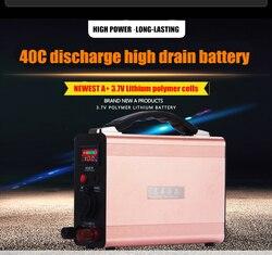 12V 90AH 90000MAH akumulator litowo-polimerowy LiPo do samochodów z silnikami wysokoprężnymi/benzynowymi (1.0L-7.0L)  lodówki samochodowe  awaryjny powerbank
