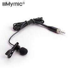 Профессиональный петличный нагрудный кардиоидный конденсаторный микрофон для Sennheiser беспроводной передатчик 3,5 мм с замком