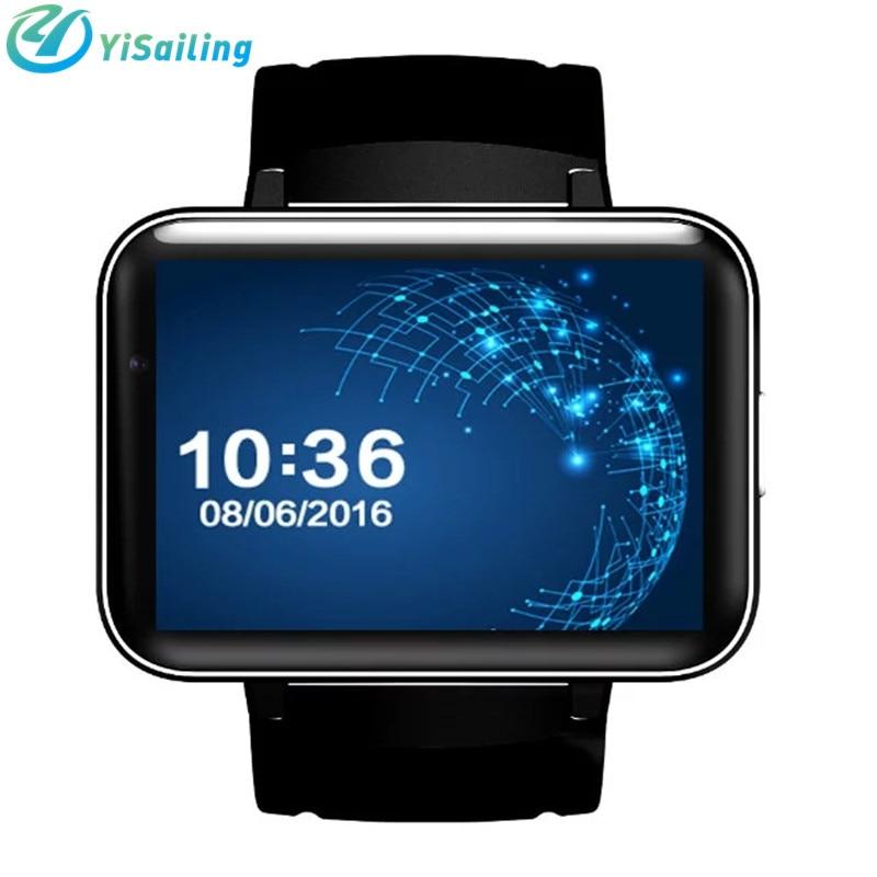 imágenes para DM98 Bluetooth Reloj Inteligente de 2.2 pulgadas Android 4.4 OS 3G Smartwatch teléfono MTK6572 Dual Core 1.2 GHz 4 GB ROM Cámara de $ number mp WCDMA GPS