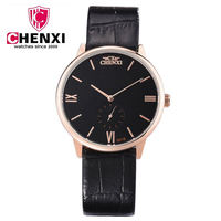 Fashion Men Dress CHENXI Watches Small Dial Work Man Luxury Brand Watch Casual Lover Couple Multi