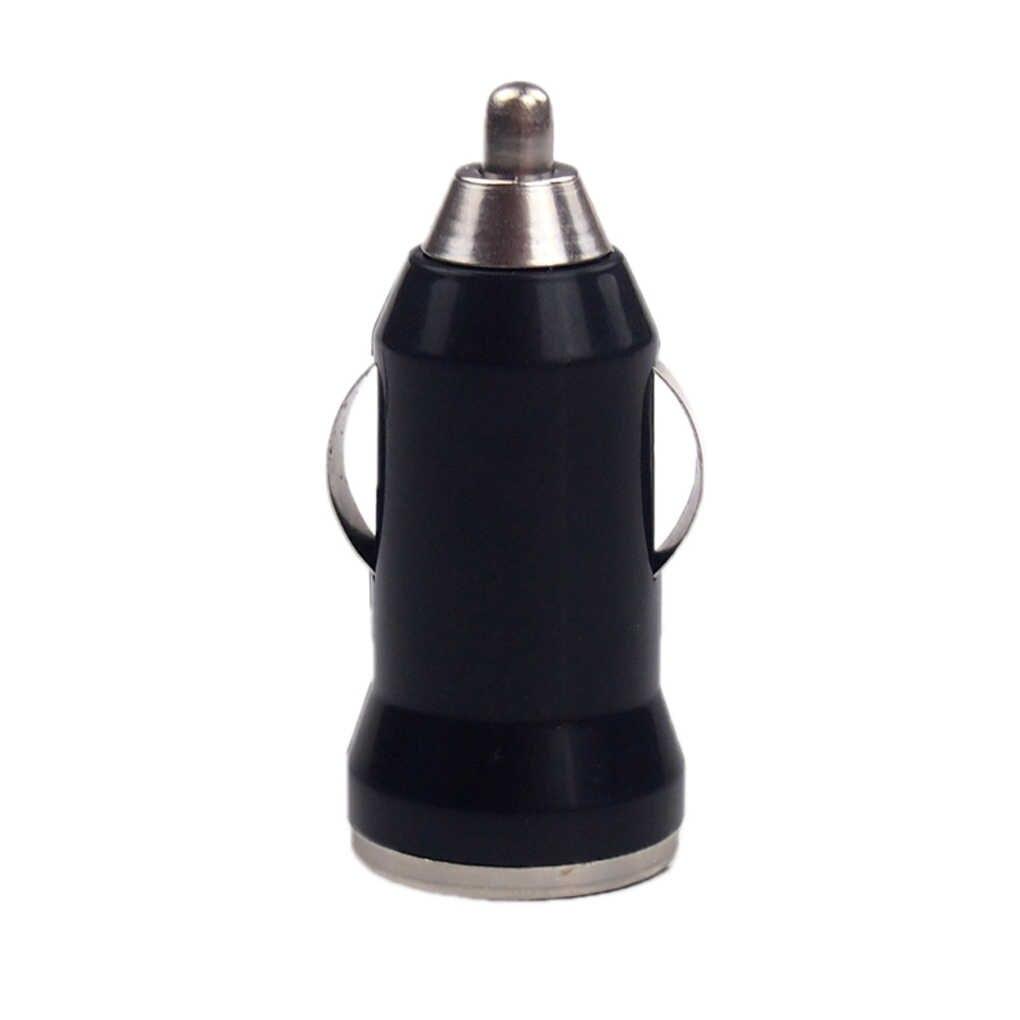 Puerto USB Universal de salida auto cargador para coche adaptador Usb para iPhone Samsung Xiaomi cojín de carga