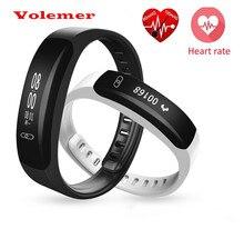K8 Volemer Артериального Давления Наручные Часы Монитор сердечного ритма Сна Tracker Smartband для Вызова/SMS iOS Android Умный Браслет
