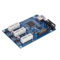 3 In 1 PCI Express PCI E 1X Slots Riser Card With High Speed USB 3