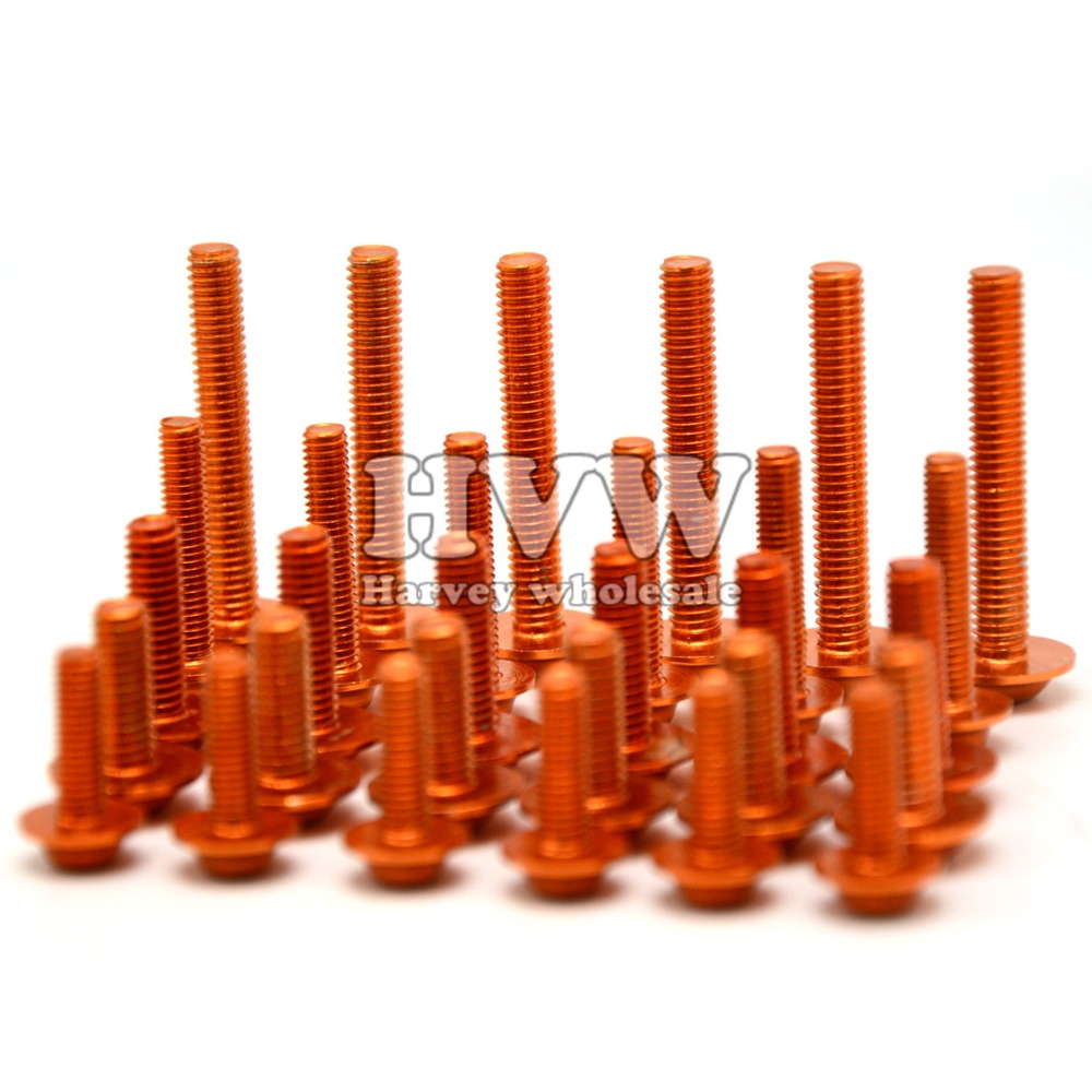 ФОТО Universal Windshield motor Screw cnc fairing body work bolts screws for BWM S1000RR F800GS K1200R  K1600 GT R1200GS ADVENTURE