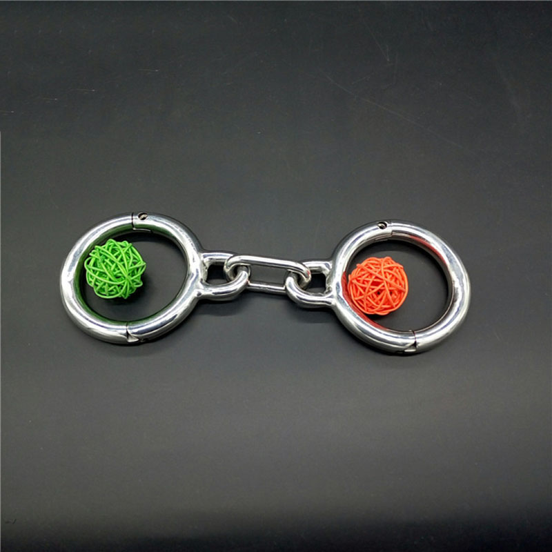 Buy sex tools sale female handcuffs stainless steel bondage BDSM slave sex toys couples fetish handcuffs