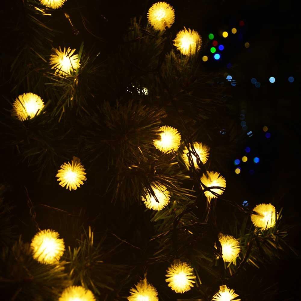 tienda online luz solar led exterior luces para el jardn chuzzle solar luces de hadas de cuerda para chrismas party decoracin de la boda guirnalda