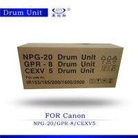 Drum ünitesi NPG-20 GPR-8 CEXV5 için uyumlu IR1600 2000 görüntüleme ünitesi