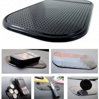 Car Anti Slip Mat Black Silica Gel Magic Sticky Pad Car Dashboard anti slip pad for Cell Phones,sunglasses,MP3 Players