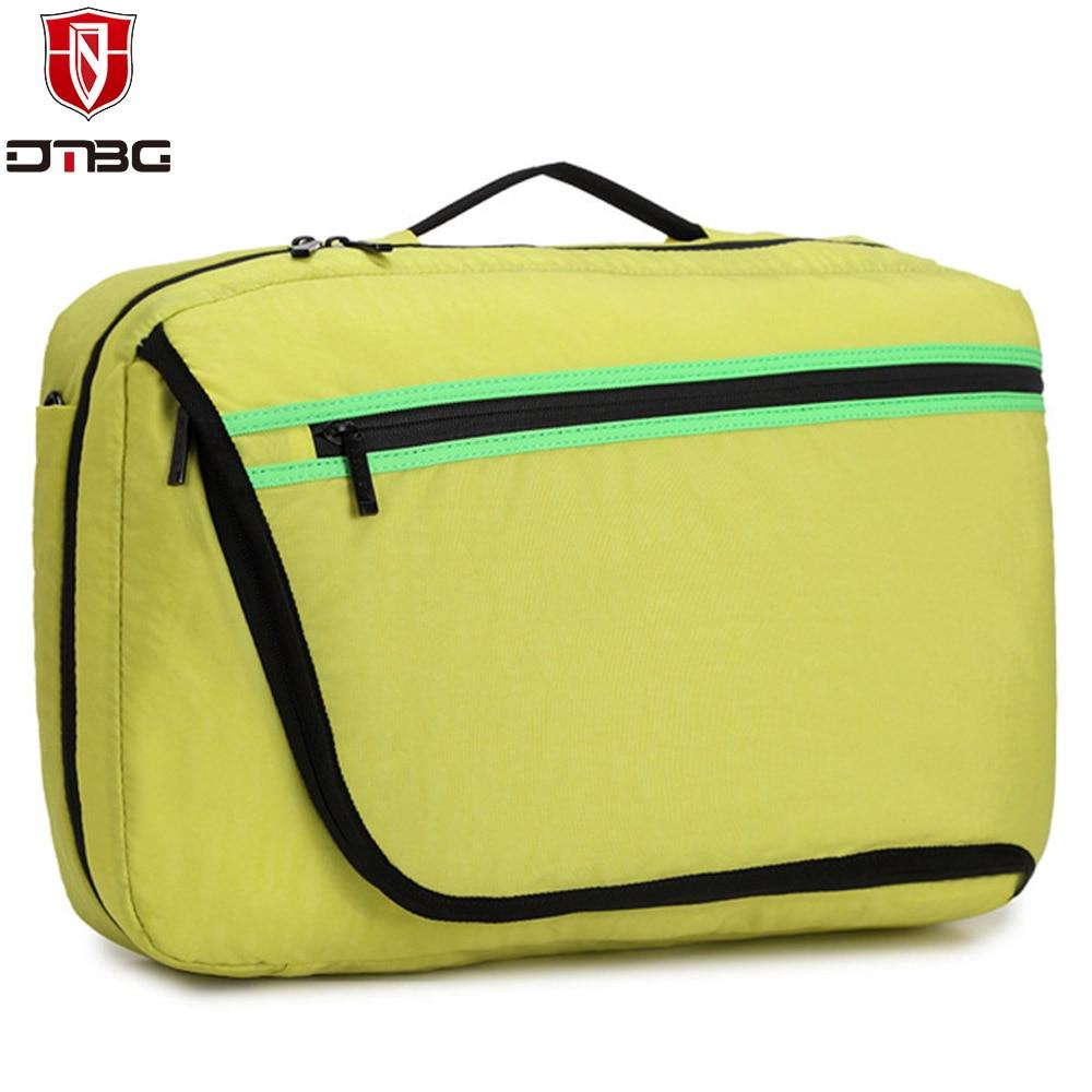 2017 DTBG Shoulder Bag 15.6 Inch Laptop Bags for Macbook Men Women Laptop Messenger Bags Nylon Travel Multi-function Day Pack