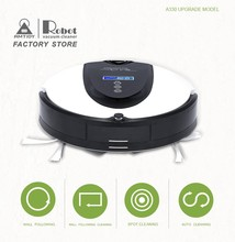 Super Suction robot vacuum cleaner with mop, Schedule,2Way Virtual Wall,SelfCharge with LCD hot on sale