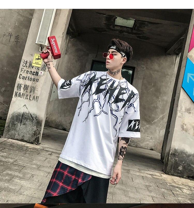 Graphic Tshirts Men Fashion Casual Short Sleeve   (12)