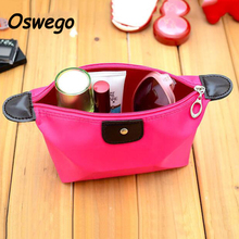 Nylon Waterproof Cosmetic Bag Large Capacity Portable Zipper Travel Makeup Bag Wash Toiletries Storage Bag neceser maquillaje