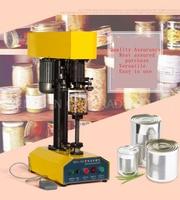Livre shippingbyTDFJ-160 Desk-top recipiente automático máquina tampando  máquina de latas de vedação  papel cansk  tampa de panela de metal máquina