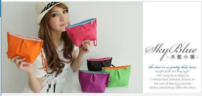 10PCS / LOT mixed 5pcs colors handbags dumplings special coins small cosmetic bag wholesale factory