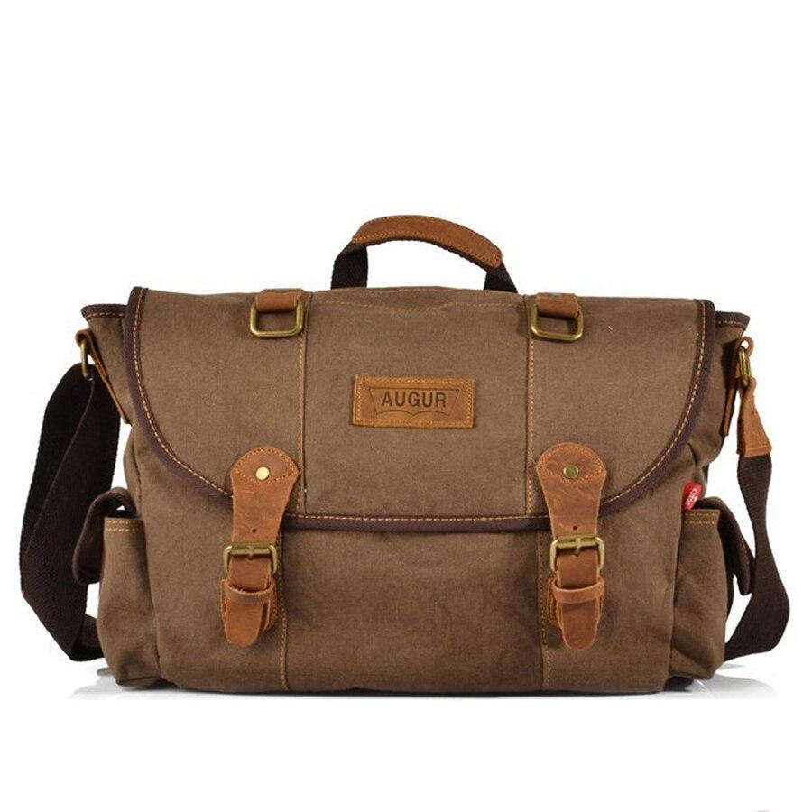 ФОТО 2016 Vintage Men's Messenger Bags Canvas Shoulder Hand Bag Fashion Men Business Crossbody Bag Printing Travel Handbag