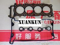 XUANKUN BJ600GS A BN600i Cylinder Head Gasket Cylinder Head Cover Gasket Cylinder Pad