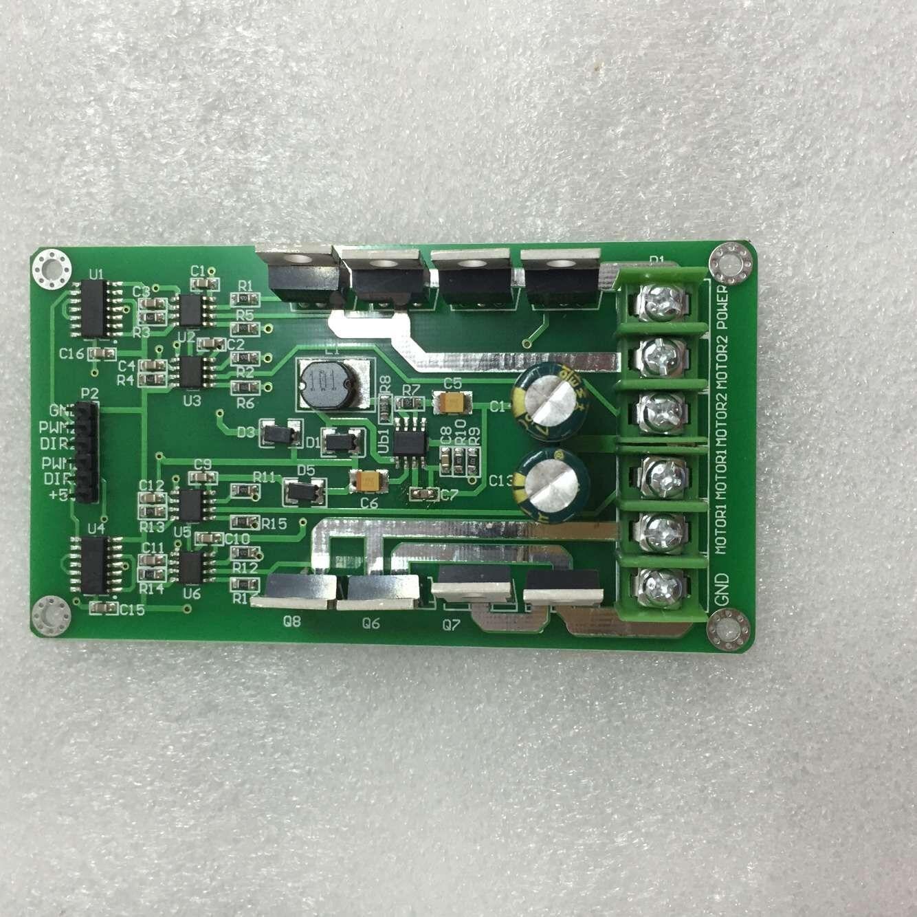 10A Double Motor Drive Module, High Power H Bridge, Powerful Braking Function, DC Motor Drive Board aurora double drive 1500