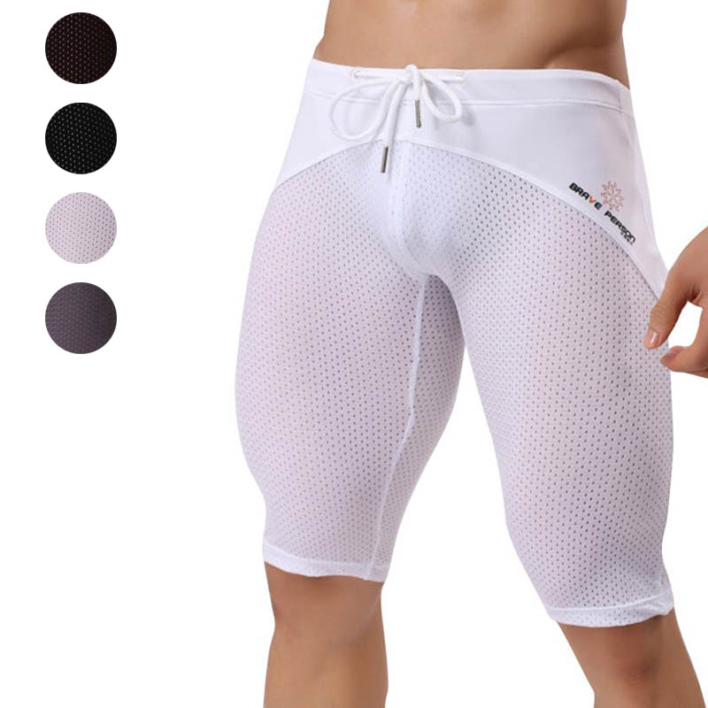 Men Breathable Thigh Sports Casual Shorts