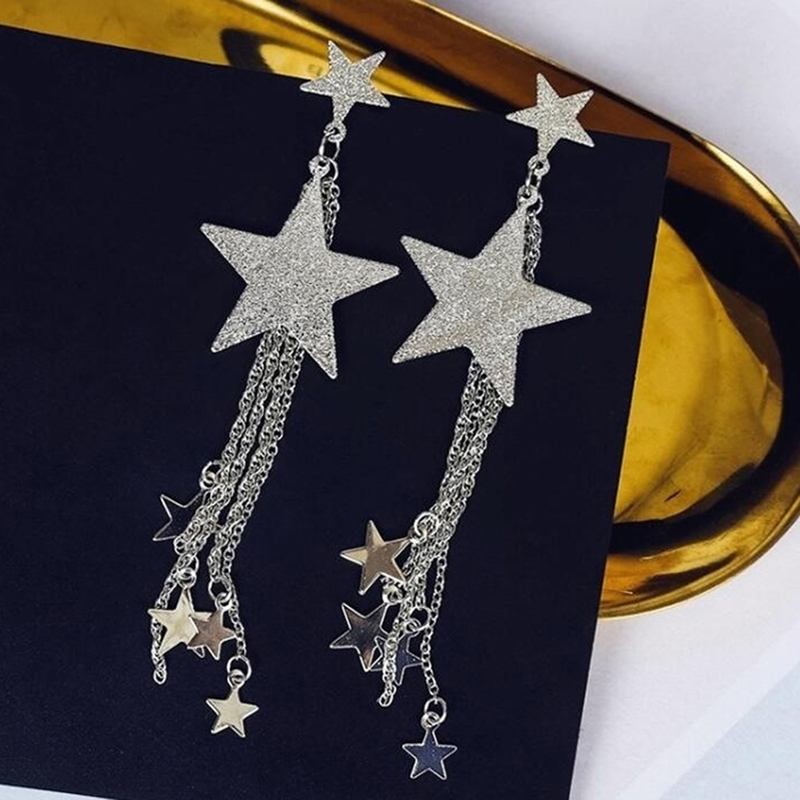 1 Pair Women Girls Ladies Vintage Ethnic Bohemia Luxury Drop Earrings Dangle Long Rope Fringe Long Tassel Earrings Jewelry