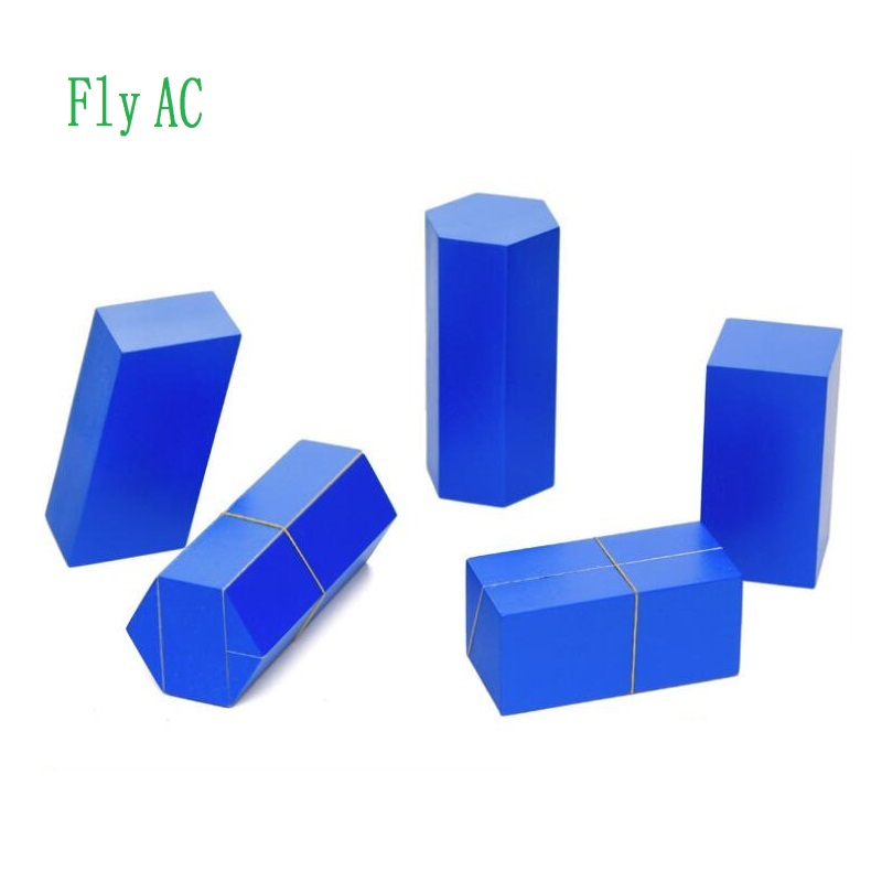 Fly AC Montessori jouets éducatifs en bois pour enfants volume groupe jouet bébé développement pratique et sens jouets cadeau