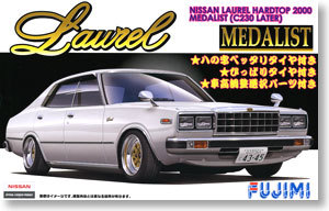 DIY 1/24 Nissan C230 Laurel 4Door Assemble Car 03860