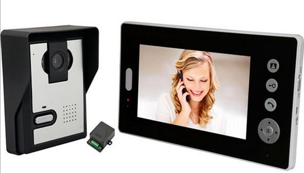 HD 7 pouces couleur interphone vidéo portier pour interphone vidéo interphone vidéo sans fil à domicile