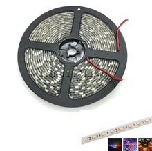 LED Strip 5050 RGB Black PCB DC12V Flexible LED Light 60LED/m 5050 Black LED Strip RGB/White/Warm White/Blue/Green/Red(China)