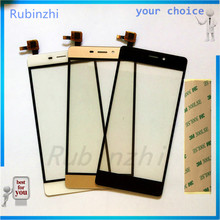 RUBINZHI Mobile Phone Touch Replacement Panel For ZTE Blade V580 Touch Screen Sensor Front Glass Repair Parts with Tape