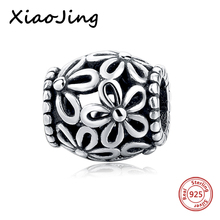 hot deal buy 925 sterling silver  hollow flowers charms beads fit original european charm bracelet beads diy jewelry making for women gifts