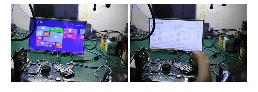 mainboard rev.2.2 hm55 N11P-GS-A1 testado