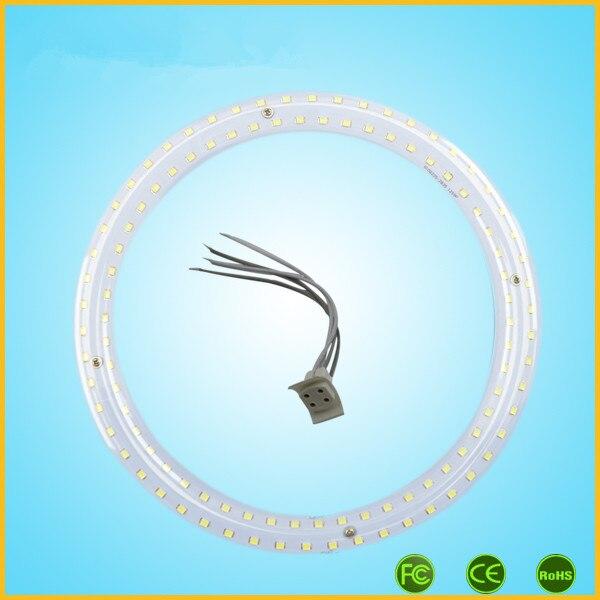 12W LED G10Q Circular Tube Ring Light Globe Tube Circle Light T9 Round Tube Lamp Light Source Ceiling CFL Replacement