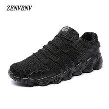 ZENVBNV New Fashion Air Mesh pria Sepatu Kasual Bernapas Lace Up Ringan Kualitas Tinggi Mens Sepatu Sneakers Ukuran Besar 48